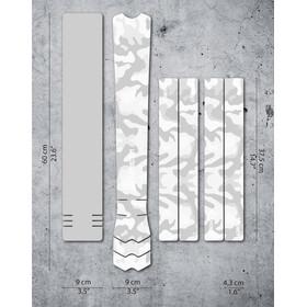 DYEDBRO Camo Kit di Protezione del Telaio, trasparente/bianco